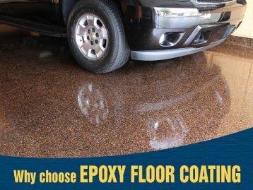 Benefits of Garage Epoxy Floor Coatings in Denver