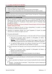 F - CAS DES CHARGES DE MISSION - Renault Canada