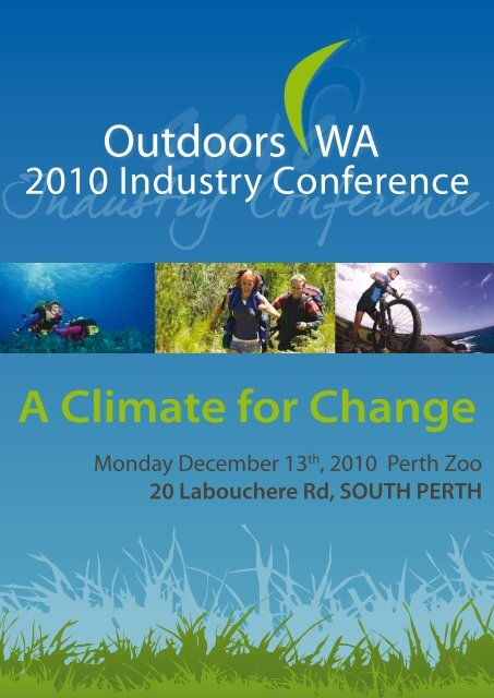 Outdoors WA A Climate for Change