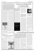 Deák téri mementók A féltõ szeretet kilencvenöt ... - Evangélikus Élet - Page 6