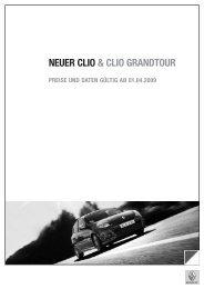 NEUER CLIO & CLIO GRANDTOUR - Renault