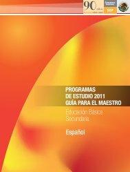 Programa de Español 2011
