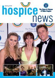 Spring 2010 - the Prince and Princess of Wales Hospice
