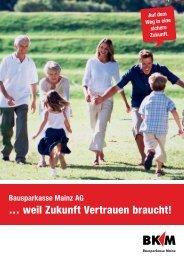 Imagebroschüre zum Download (PDF) - Bausparkasse Mainz AG