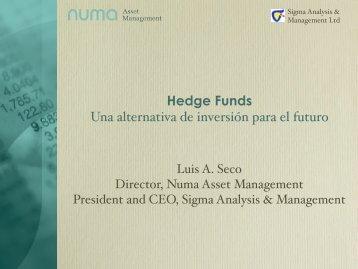 Hedge Funds Una alternativa de inversión para el futuro