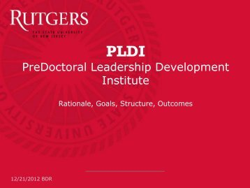 PLDI - Center for Organizational Development and Leadership