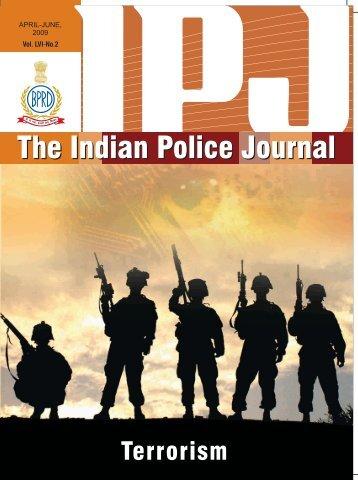 April - June - Bureau of Police Research and Development