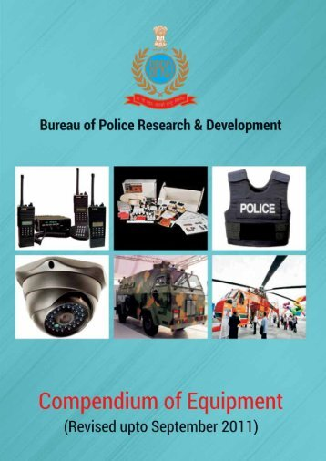 Compendium of Equipment revised upto September 2011