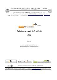 Relazione annuale delle attività 2012 - Centro Regionale Veneto ...