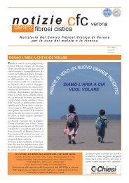 N. 18, Anno 6, Giugno 2011 - Centro Regionale Veneto Fibrosi Cistica
