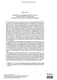 Organisierter Pazifismus in der Endphase der Weimarer Republik ...