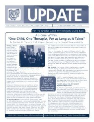 Jan/Feb 2012 OP Update - Ohio Psychological Association