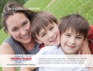 2013 ANNUAL REPORT - Who We Are