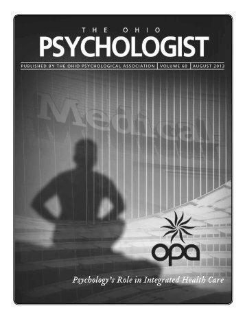 Psychology's Role in Integrated Health Care - Ohio Psychological ...