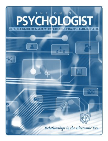 Relationships in the Electronic Era - Ohio Psychological Association