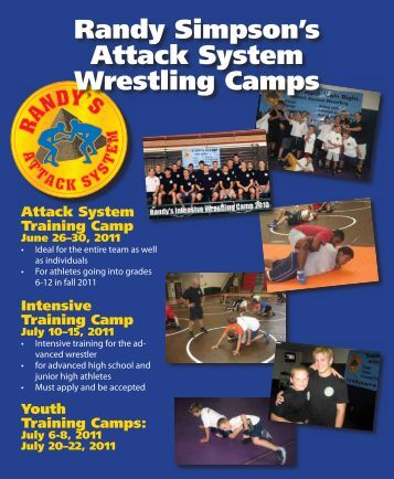 Randy Simpson's Attack System Wrestling Camps - Randy's ...