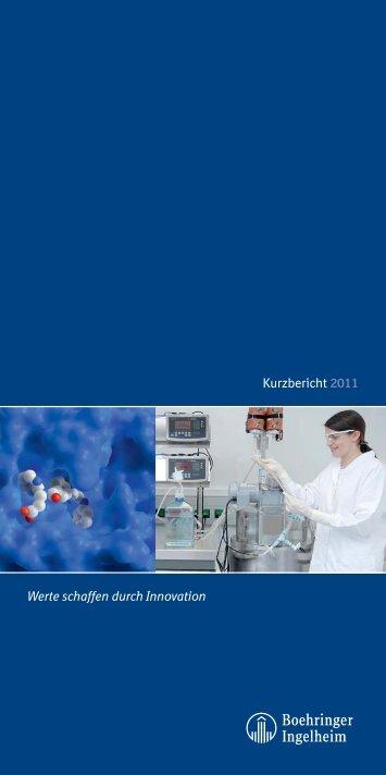 Kurzbericht 2011.indd - Boehringer Ingelheim