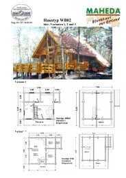 Haustyp WB02 - Blockhaus Barth