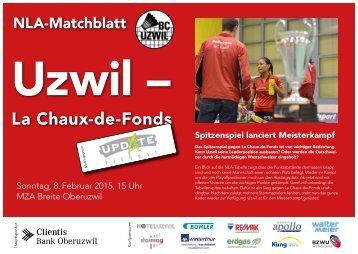 Badminton NLA | Uzwil – La Chaux-de-Fonds