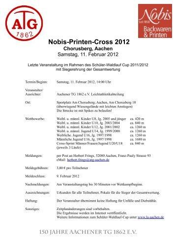 Nobis-Printen-Cross 2012 Chorusberg, Aachen - Aachener TG