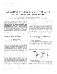 A Novel Soft Switching Converter with Active Auxiliary Resonant ...