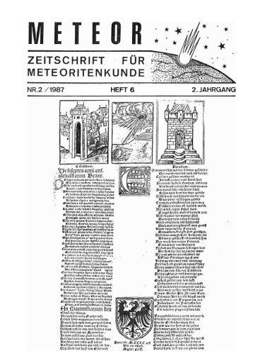HEFT 6 2. JAHRGANG - Feuerkugel.de