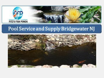 Pool Service and Supply Bridgewater NJ