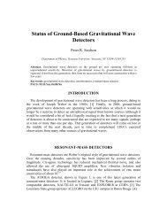 Status of Ground-Based Gravitational Wave Detectors