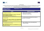 Quarterly Report 2 (01/09/09-31/03/10) Organisation: F ... - AESAEC