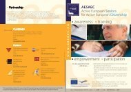 empowerment participation awareness training - AESAEC