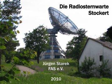 K. Jansky - Astropeiler Stockert