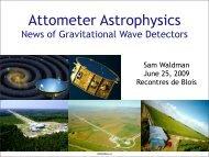 News of Gravitational Wave Detectors - DCC