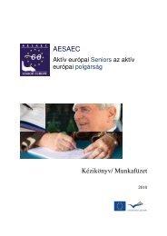 Kézikönyv/ Munkafüzet AESAEC