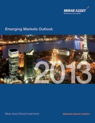 Emerging Markets Outlook - Mirae Asset Global Investments