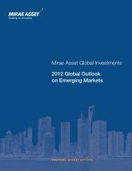 2012 Global Outlook on Emerging Markets - Mirae Asset Global ...
