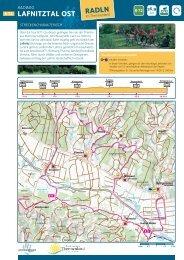 Tourenkarte als PDF herunterladen - Stein