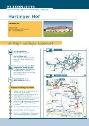 Ihr Weg in die Region Loipersdorf Hartinger Hof