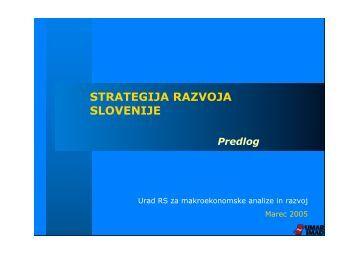 Strategija razvoja Slovenije PDF (204kB) - slo.at