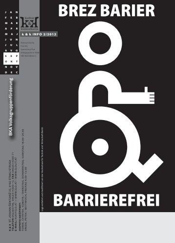 BARRIEREFREI BREZ BARIER - slo.at