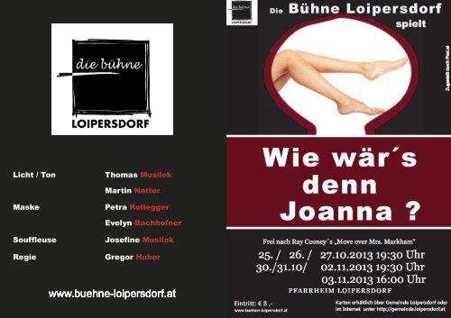 Loipersdorf spielt - Gemeinde Loipersdorf