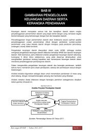 Bab 3 Pengelolaan Keuangan - Pusat Informasi Perencanaan ...