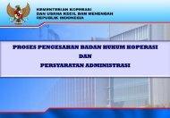 proses pengesahan badan hukum koperasi dan persyaratan ...