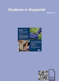 Studieren in Wuppertal (2.72 MB) - Hochschul Sozialwerk Wuppertal
