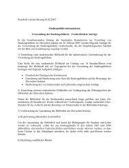 Protokoll der Sitzung vom 26.02.2007 - Slavisches Institut
