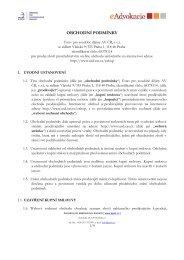 Obchodní podmínky (PDF) - Ústav pro soudobé dějiny AV