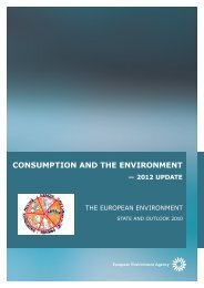 Consumption and the environment - Global Research Forum