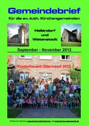 2012-09 Gemeindebrief.pdf, Seiten 1-8 - kirche-hallendorf.de