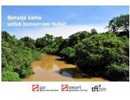 Bekerja sama untuk konservasi hutan - PT SMART Tbk