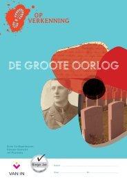 Op verkenning 5 - Thema DE GROOTE OORLOG - themaschrift