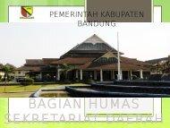 bagian humas sekretariat daerah - Pemerintah Kabupaten Bandung